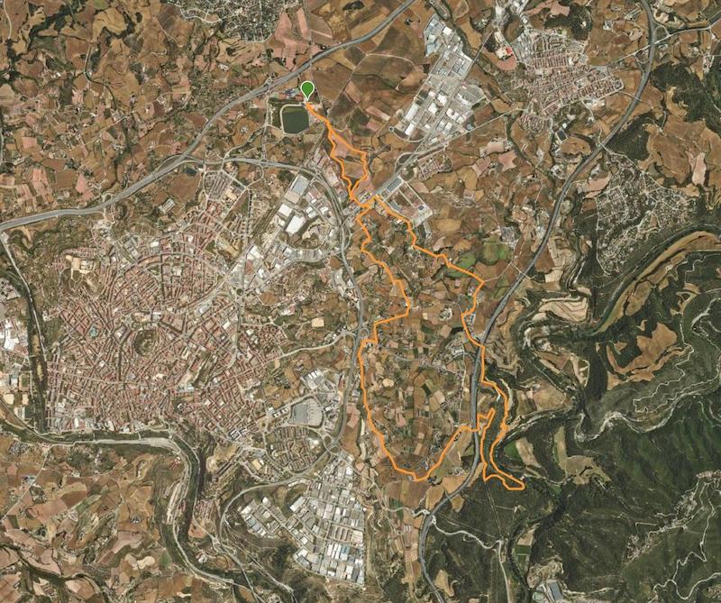 Mapa ruta Viladordis