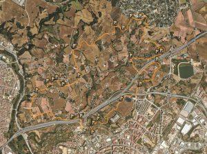 Mapa ruta Poal