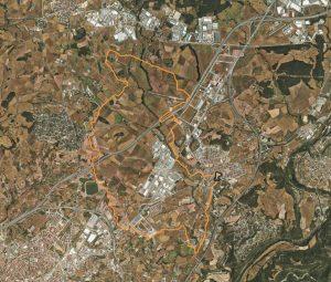 Mapa ruta Sant Fruitós